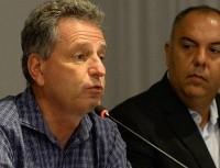 Landim se irrita com insistência do Benfica por Bruno Henrique
