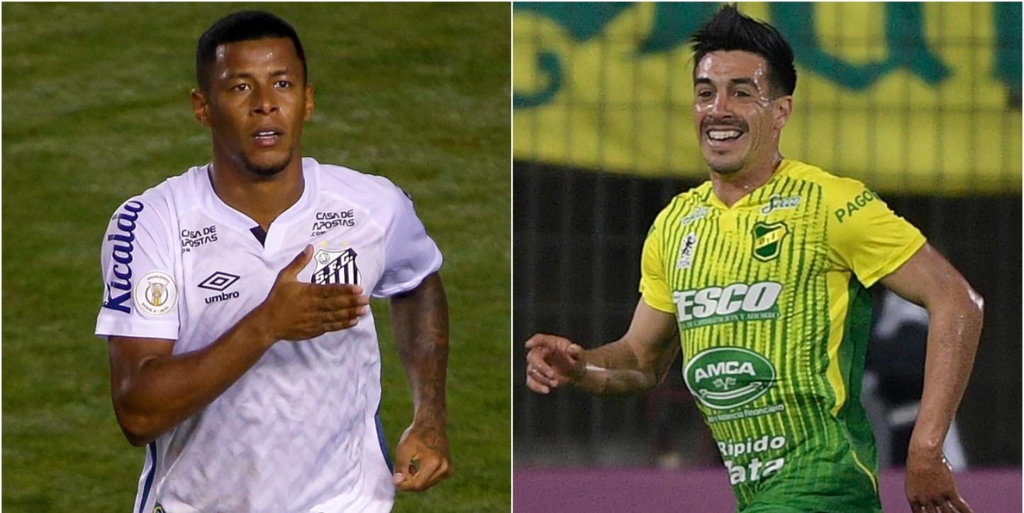 Libertadores Santos Vence O Defensa Y Justicia De Virada