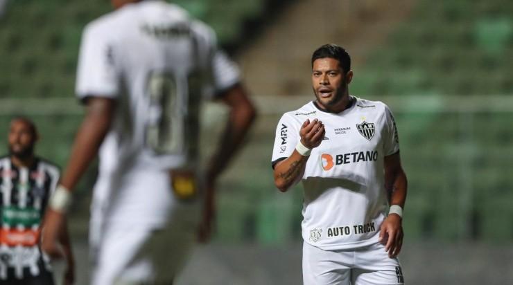 Hulk: quer mais chances no Galo (Fotos: Pedro Souza / Agência Galo / Flickr do Atlético / Divulgação)