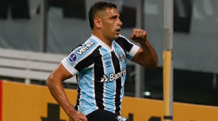Diego Souza: deixou sua marca contra o Aragua (Foto: Maxi Franzoi/AGIF)