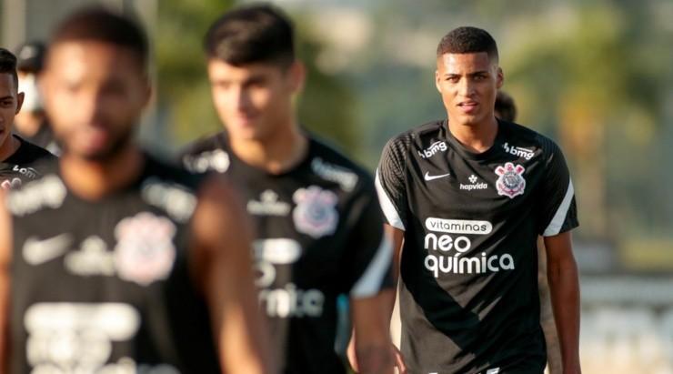 varanda: não entrou nos últimos jogos (Foto: Rodrigo Coca/Agência Corinthians/Divulgação)