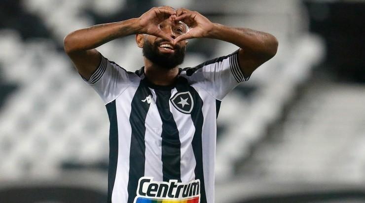Chay: destaque na vitória sobre o Coritiba (Foto: Vitor Silva/Botafogo/Divulgação)