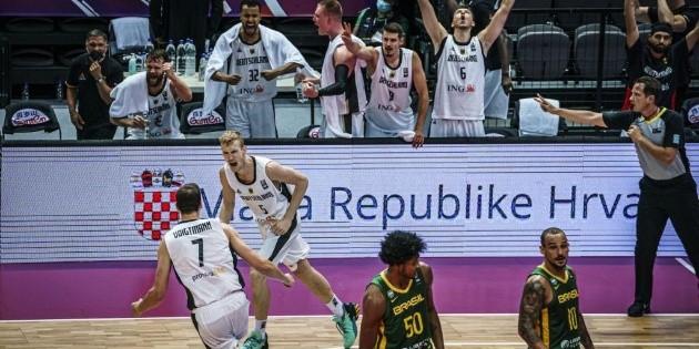 Fim do sonho olímpico. Brasil perde para a Alemanha e fica ...