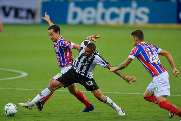 Atlético-MG em campo pelo Campeonato Brasileiro. (Foto: Getty Images)