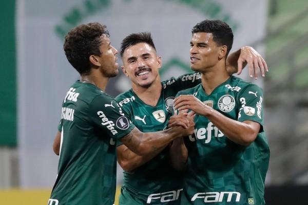 Palmeiras segue com 100% de aproveitamento na Libertadores. (Foto: Getty Images)