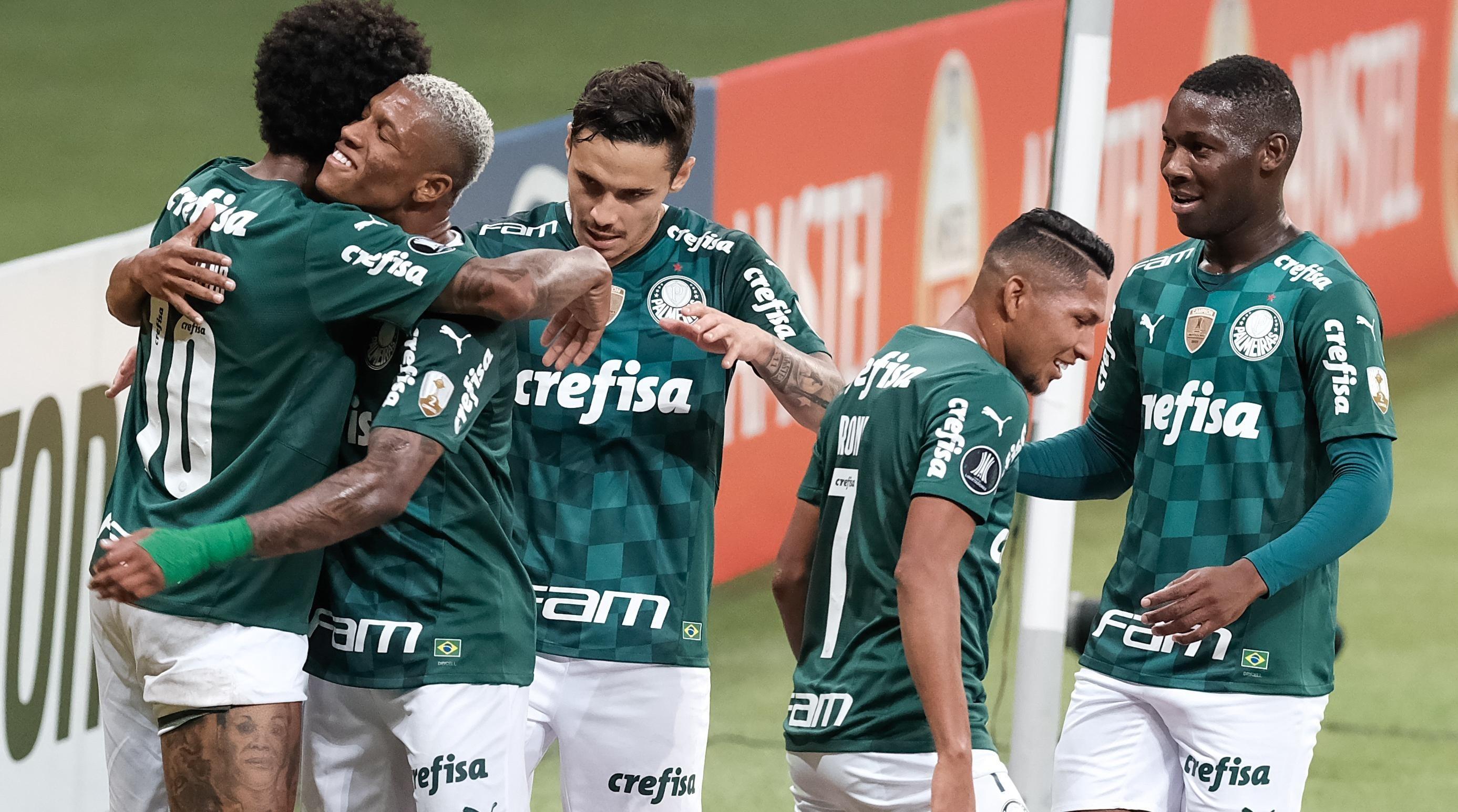 No meio de semana, Verdão goleou o del Valle (Foto: Marcello Zambrana/AGIF)