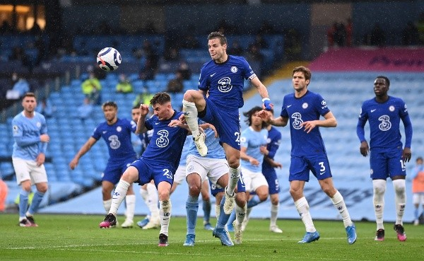 Manchester City x Chelsea jogaram neste sábado (8), pela Premier League. (Foto: Getty Images)