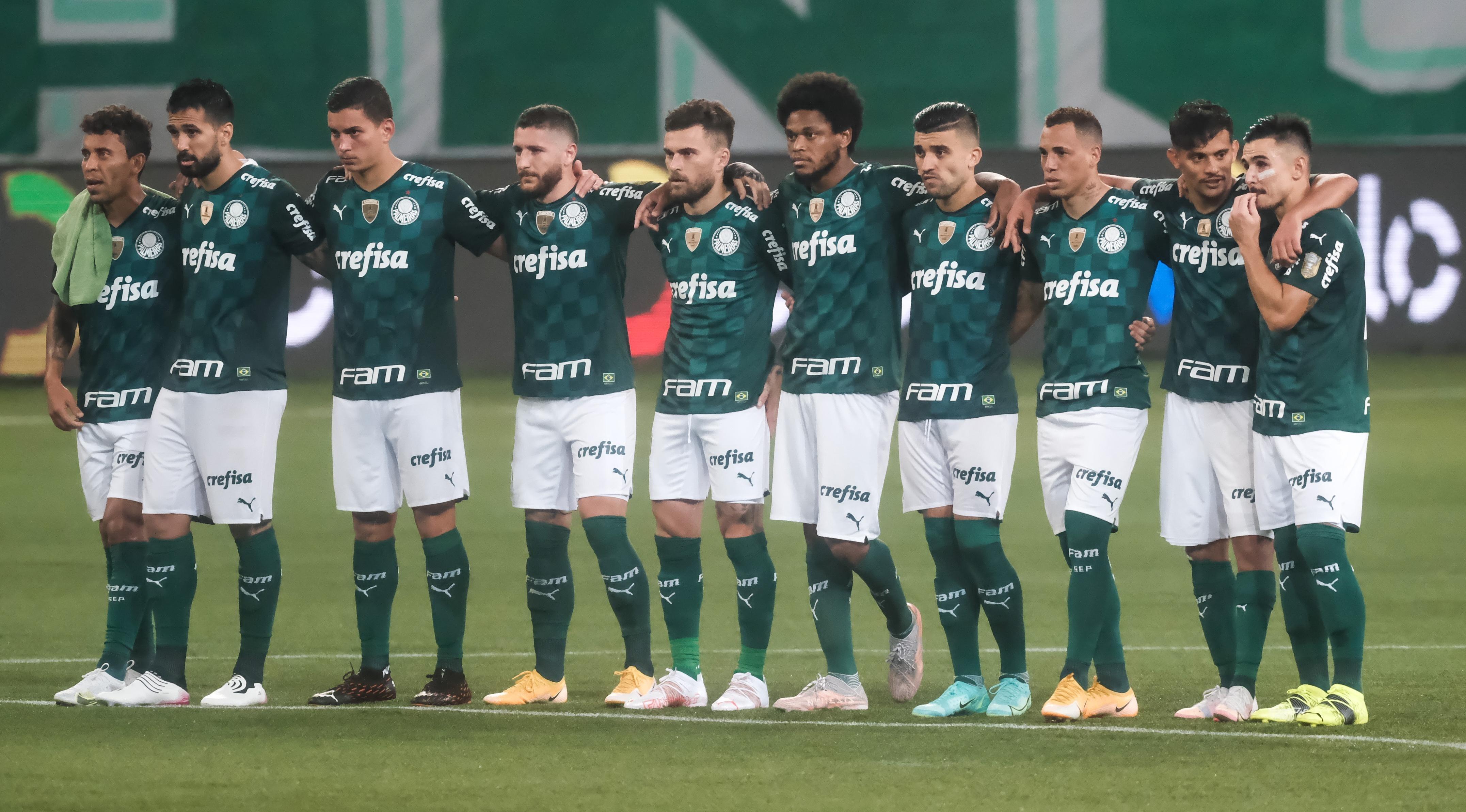 Palmeiras foi novamente superado nos pênaltis - Foto: Marcello Zambrana/AGIF.