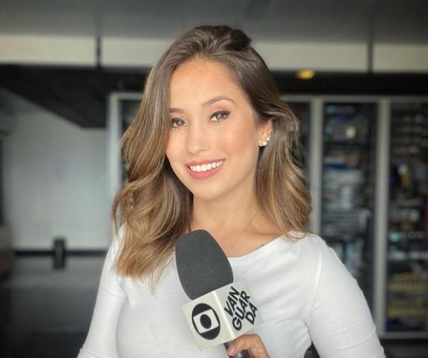 Jornalista Laurene Santos, da TV Vanguarda. (Foto: Reprodução Instagram)