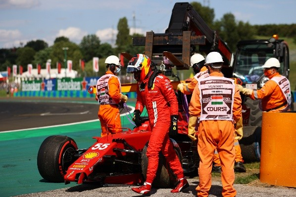 Piloto español deja desolado tras accidente en el circuito de Hungaroring