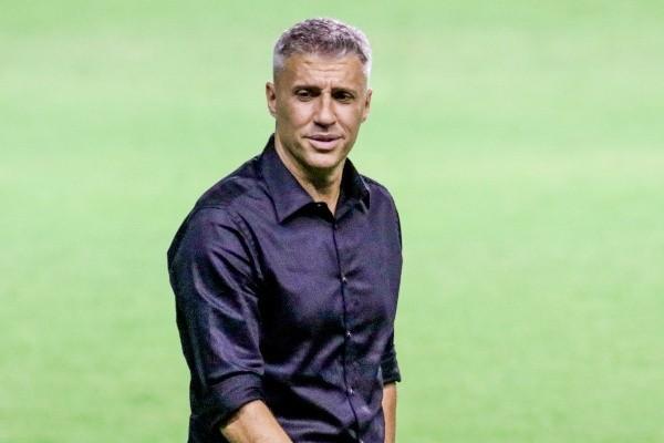 Hernán Crespo, entrenador del São Paulo.  (Rafael Vieira / AGIF)